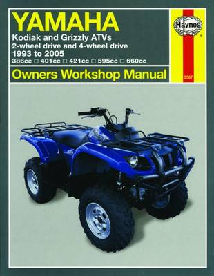 Picture of Yamaha Kodiak and Grizzly ATVs: 2-wheel Drive and 4-wheel Drive 1993 to 2005