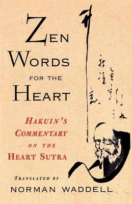 Picture of Zen Words for the Heart: Hakuin's Commentary on the Heart Sutra