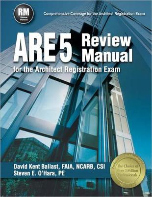 Picture of Are 5 Review Manual for the Architect Registration Exam