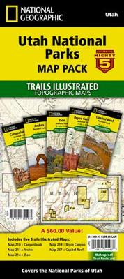 Picture of Utah National Parks [Map Pack Bundle]
