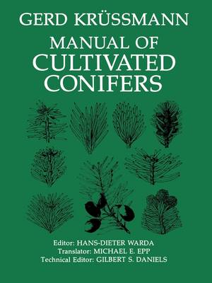 Picture of Manual of Cultivated Conifers
