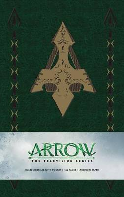 Picture of Arrow Hardcover Ruled Journal