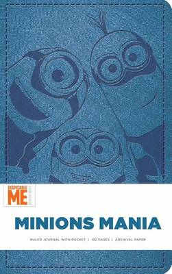 Picture of Minions Mania Hardcover Ruled Journal