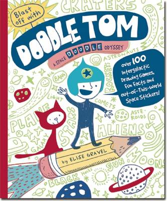 Picture of Blast Off with Doodle Tom: A Space Doodle-odyssey