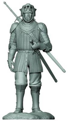 Picture of Game of Thrones the Hound Figure