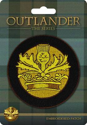 Picture of Outlander Crown and Thistle Embroidered Patch