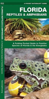Picture of Florida Reptiles & Amphibians  : A Folding Pocket Guide to Familiar Species of Florida & the Everglades