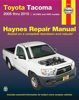 Picture of Toyota Tacoma Automotive Repair Manual