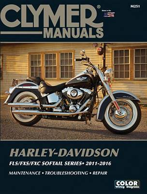Picture of Harley Davidson Softail Clymer Manual: 2011-2016