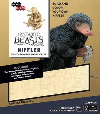 Picture of Incredibuilds: Fantastic Beasts and Where to Find Them: Niffler 3D Wood Model and Booklet
