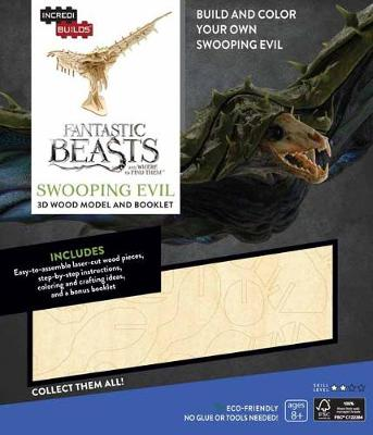 Picture of Incredibuilds: Fantastic Beasts and Where to Find Them: Swooping Evil 3D Wood Model and Booklet