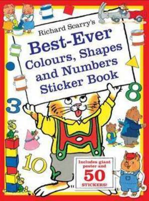 Picture of Richard Scarry's Best-ever Colours, Shapes and Numbers Sticker Book