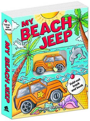 Picture of My Beach Jeep Fold-out Track Book