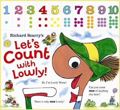 Picture of Richard Scarry: Let's Count with Lowly: Tabbed Board Book