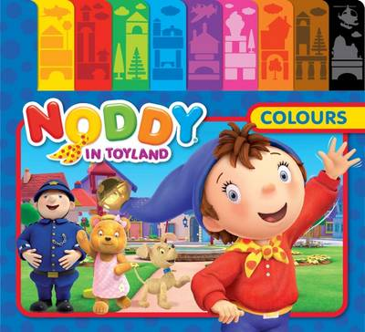Picture of Noddy Tabbed Board Book: Colours