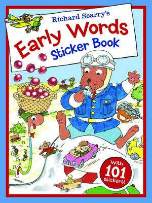 Picture of Richard Scarry - Early Words Sticker Book
