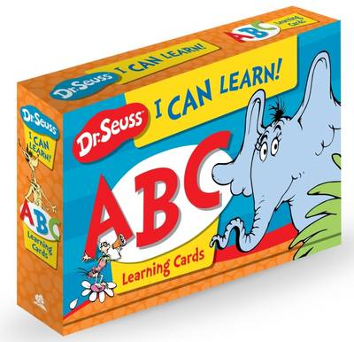 Picture of Dr Seuss I Can Learn! ABC Learning Cards