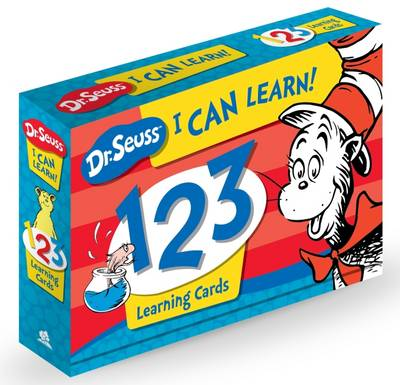 Picture of Dr Seuss I Can Learn! 123 Learning Cards