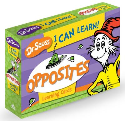 Picture of Dr Seuss I Can Learn!Opposites Learning Cards