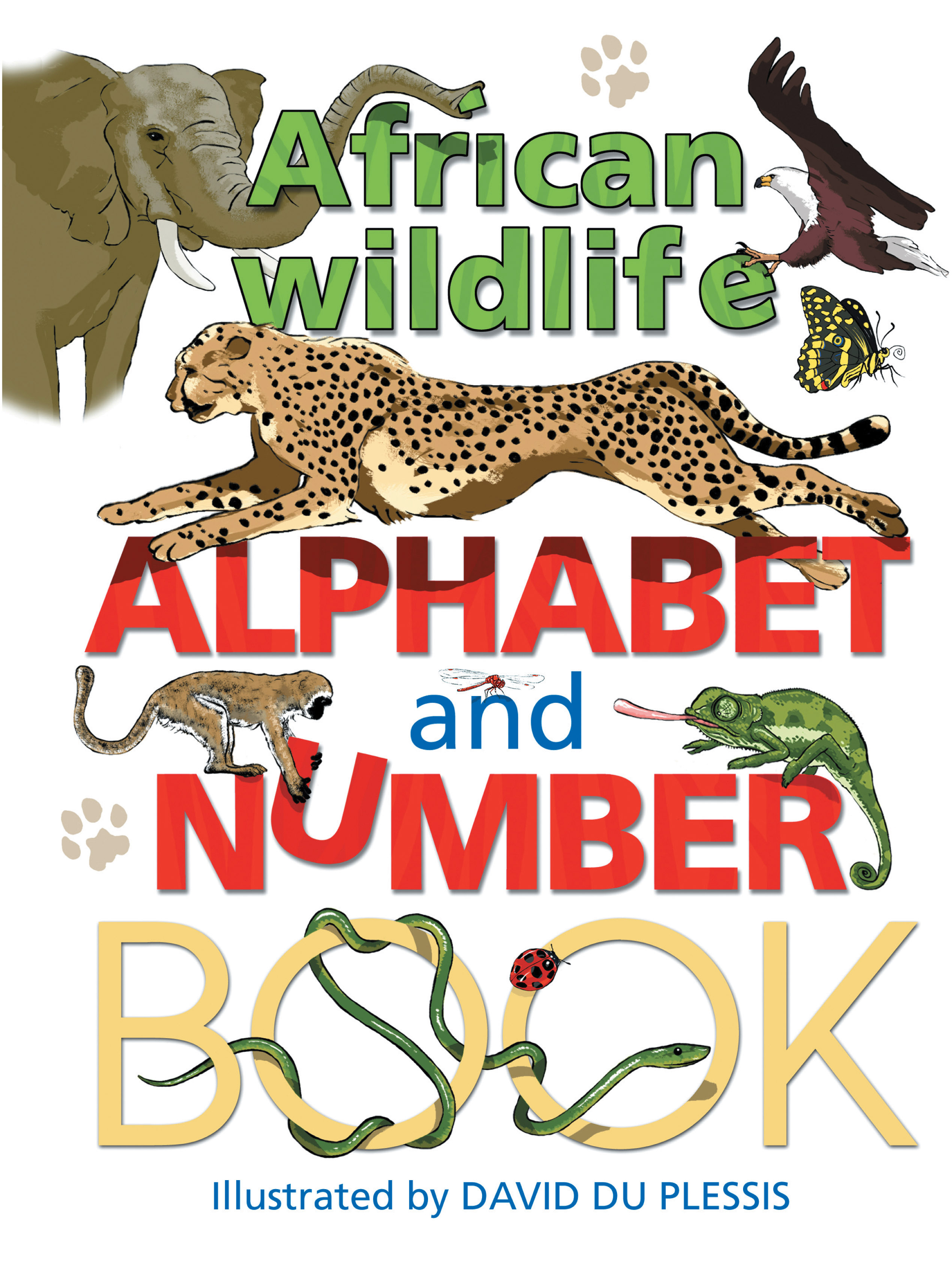 Picture of African alphabet wildlife and number book