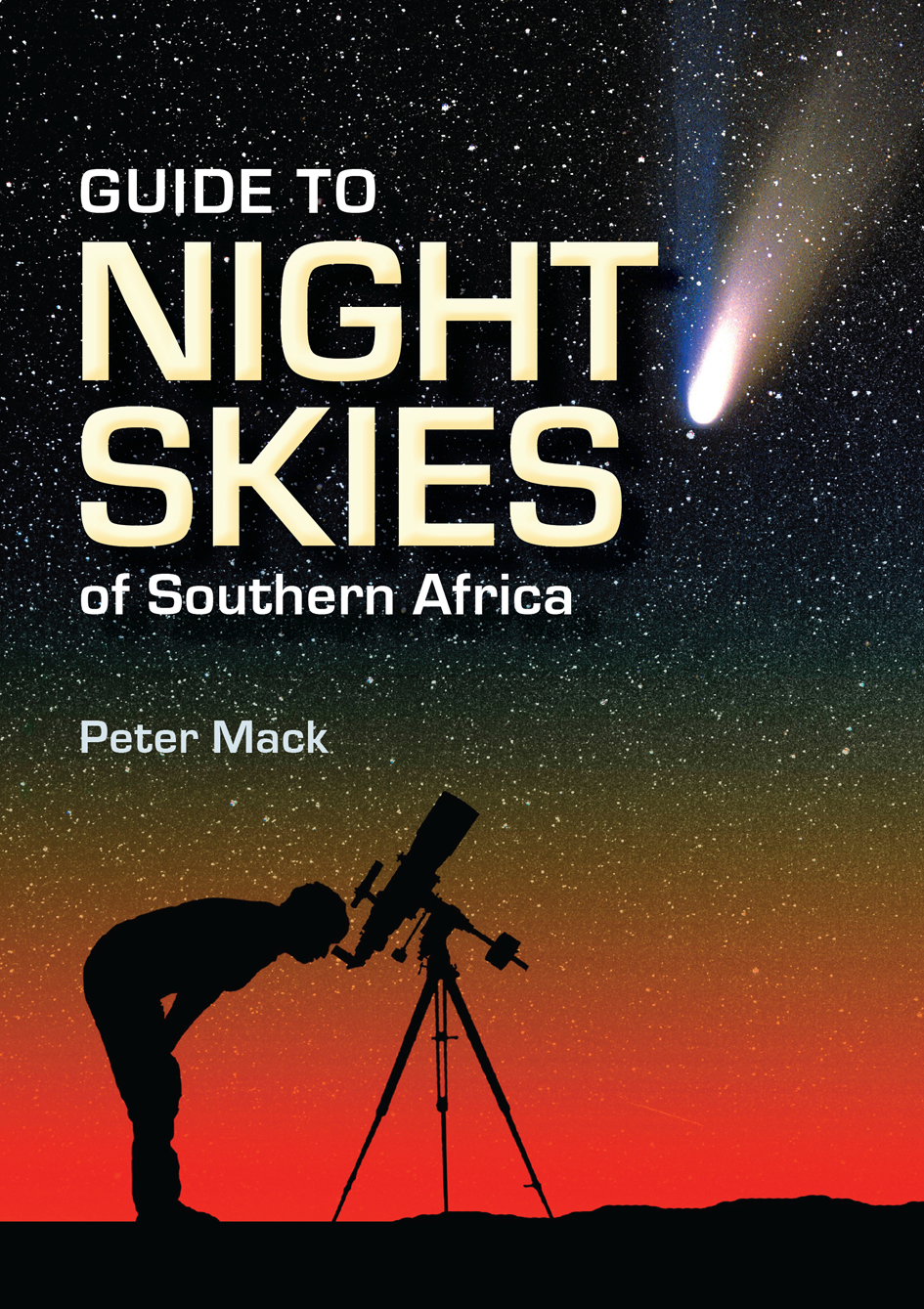 Picture of Guide to night skies of Southern Africa
