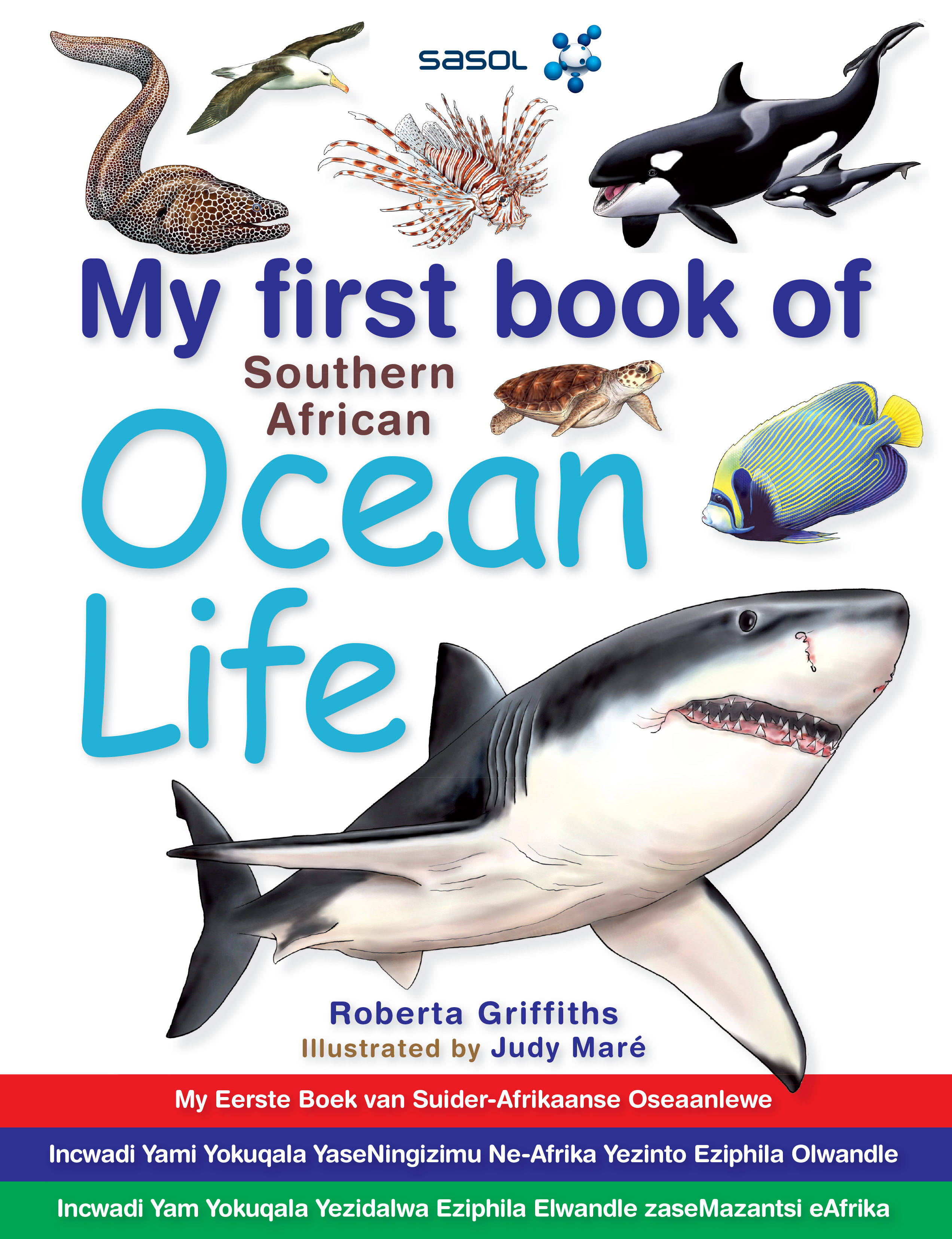 Picture of My first book of Southern African ocean life