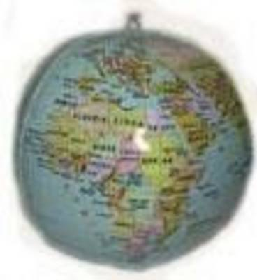 Picture of Inflatable world globe