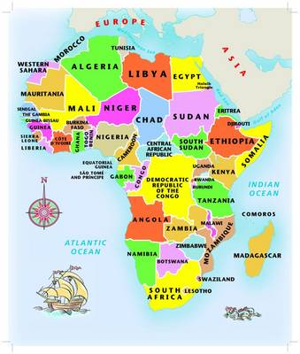 Picture of Africa junior jigsaw puzzle