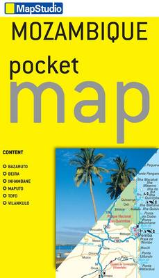 Picture of Mozambique Pocket Map: MS.EPT10: 2013