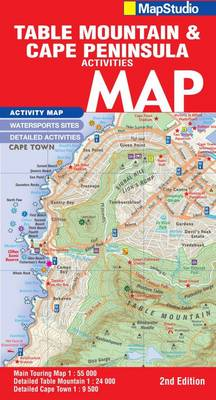 Picture of Road map Table Mountain & Cape Peninsula adventures