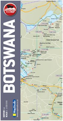 Picture of Botswana Incl. 4x4 Routes: MS.R25: 2014