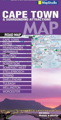 Picture of Road map Cape Town & surrounding attractions
