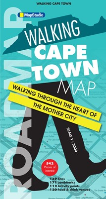 Picture of Walking Cape Town - Road map