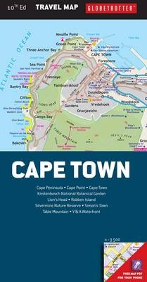 Picture of Globetrotter travel map Cape Town