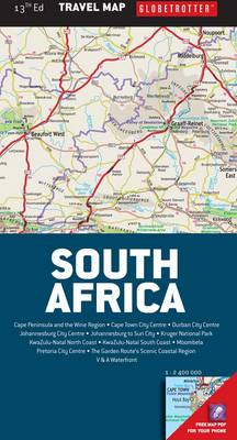 Picture of Globetrotter travel map South Africa