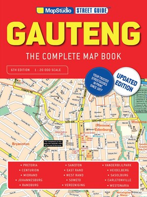 Picture of Gauteng complete map book street guide