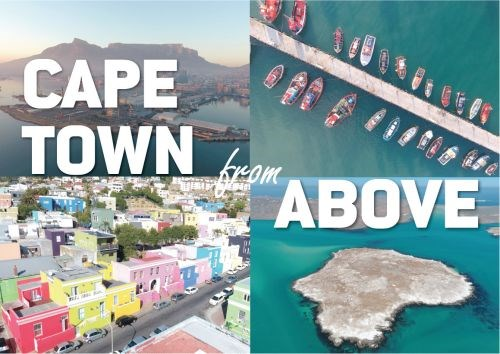 Picture of Cape Town from above