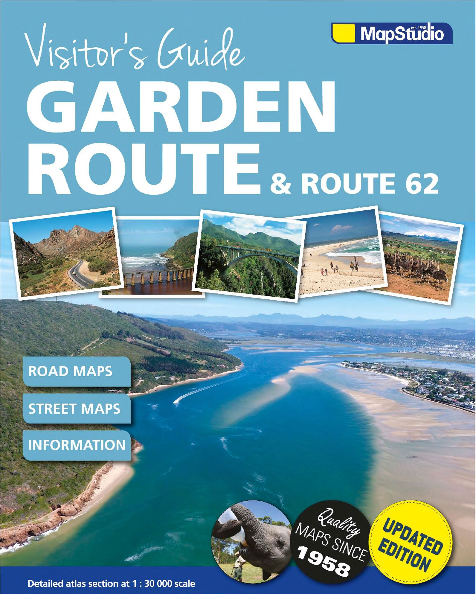 Picture of Visitor's guide to the Garden Route & Route 62