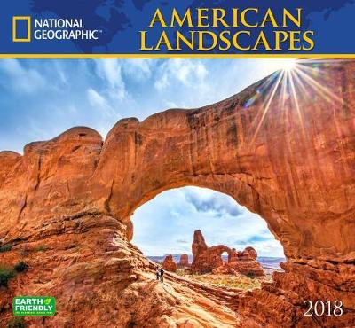 Picture of National Geographic American Landscapes 2018 Wall Calendar