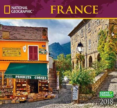 Picture of National Geographic France 2018 Wall Calendar