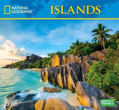 Picture of National Geographic Islands 2018 Wall Calendar