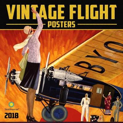 Picture of Vintage Flight Posters Smithsonian 2018 Wall Calendar