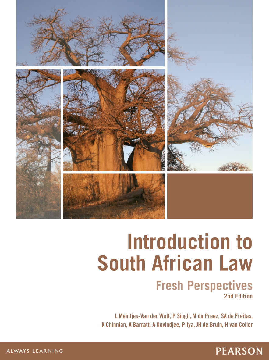 Picture of Introduction to South African law