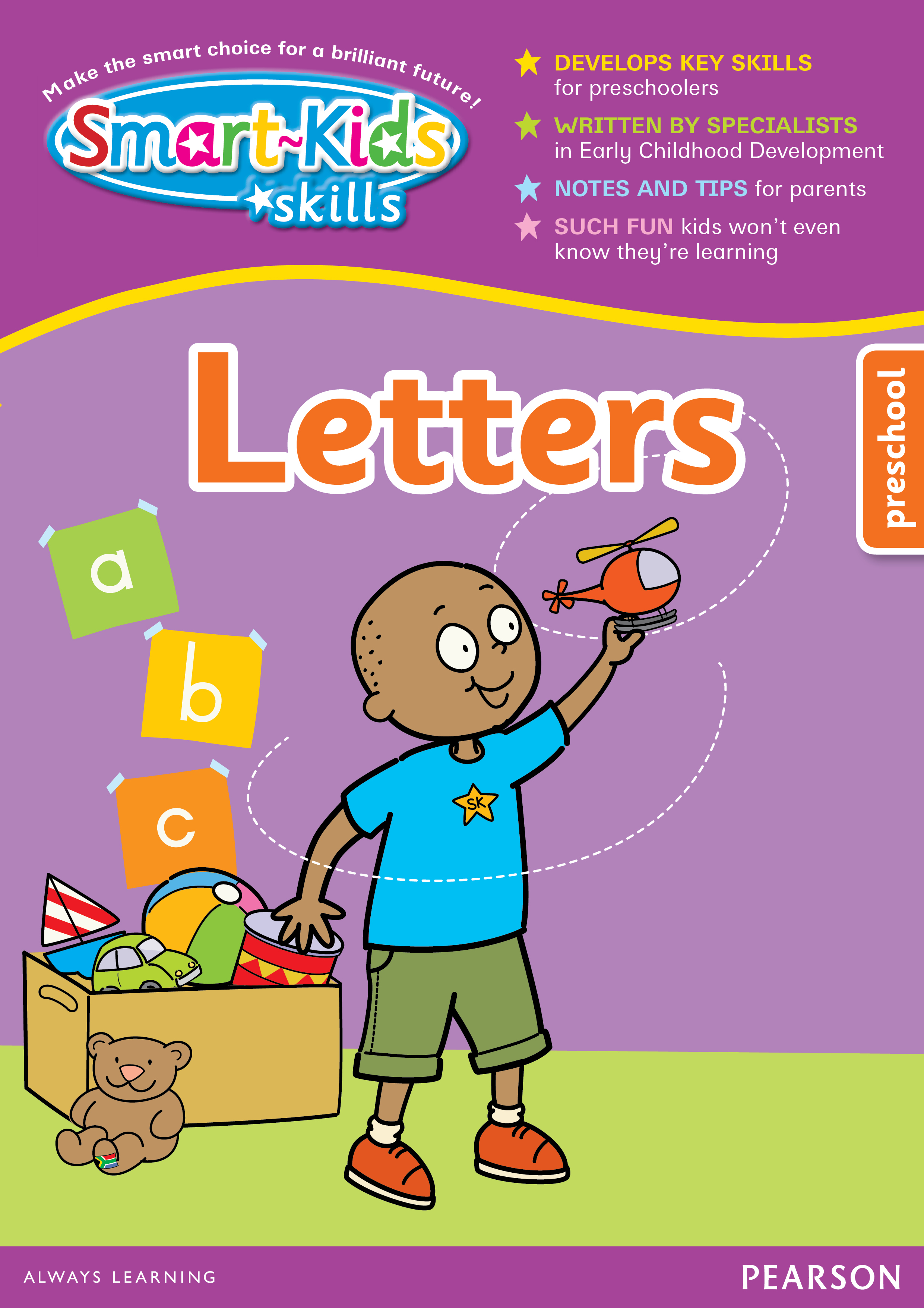 Picture of Smart-Kids write & wipe letters