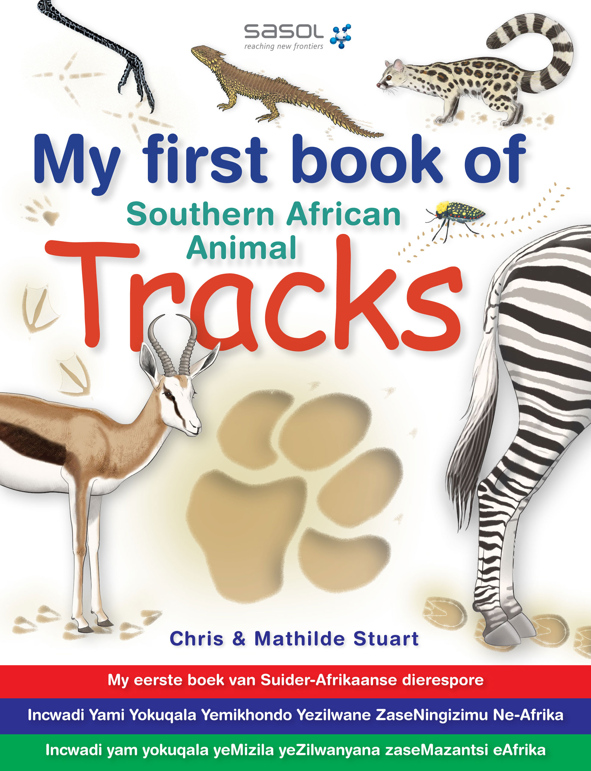 Picture of My first book of Southern African animal tracks