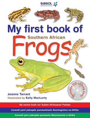 Picture of My first book of southern African frogs