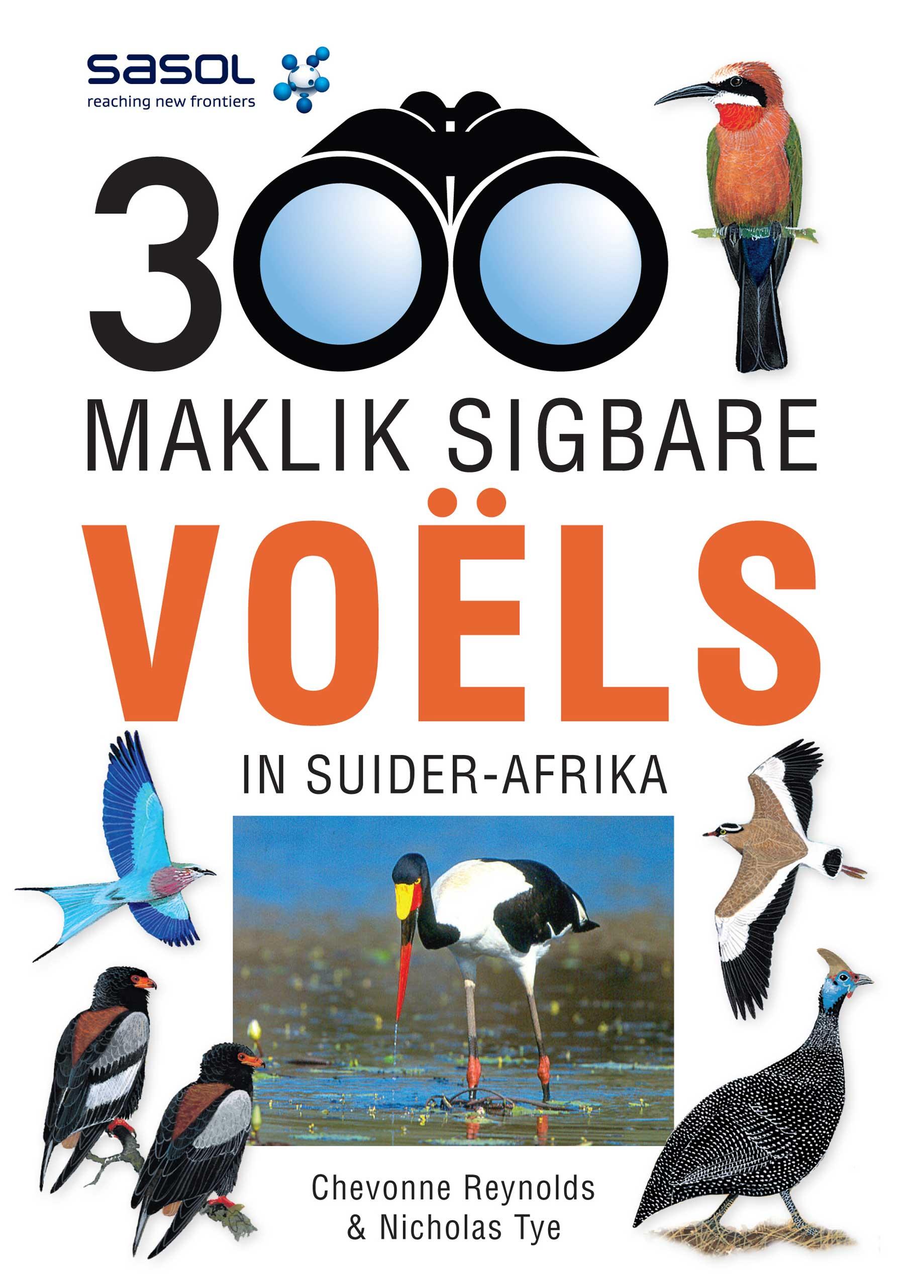 Picture of 300 Maklik sigbare voels van Suider-Afrika