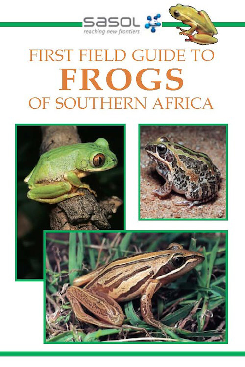 Picture of Sasol first field guide to frogs of Southern Africa