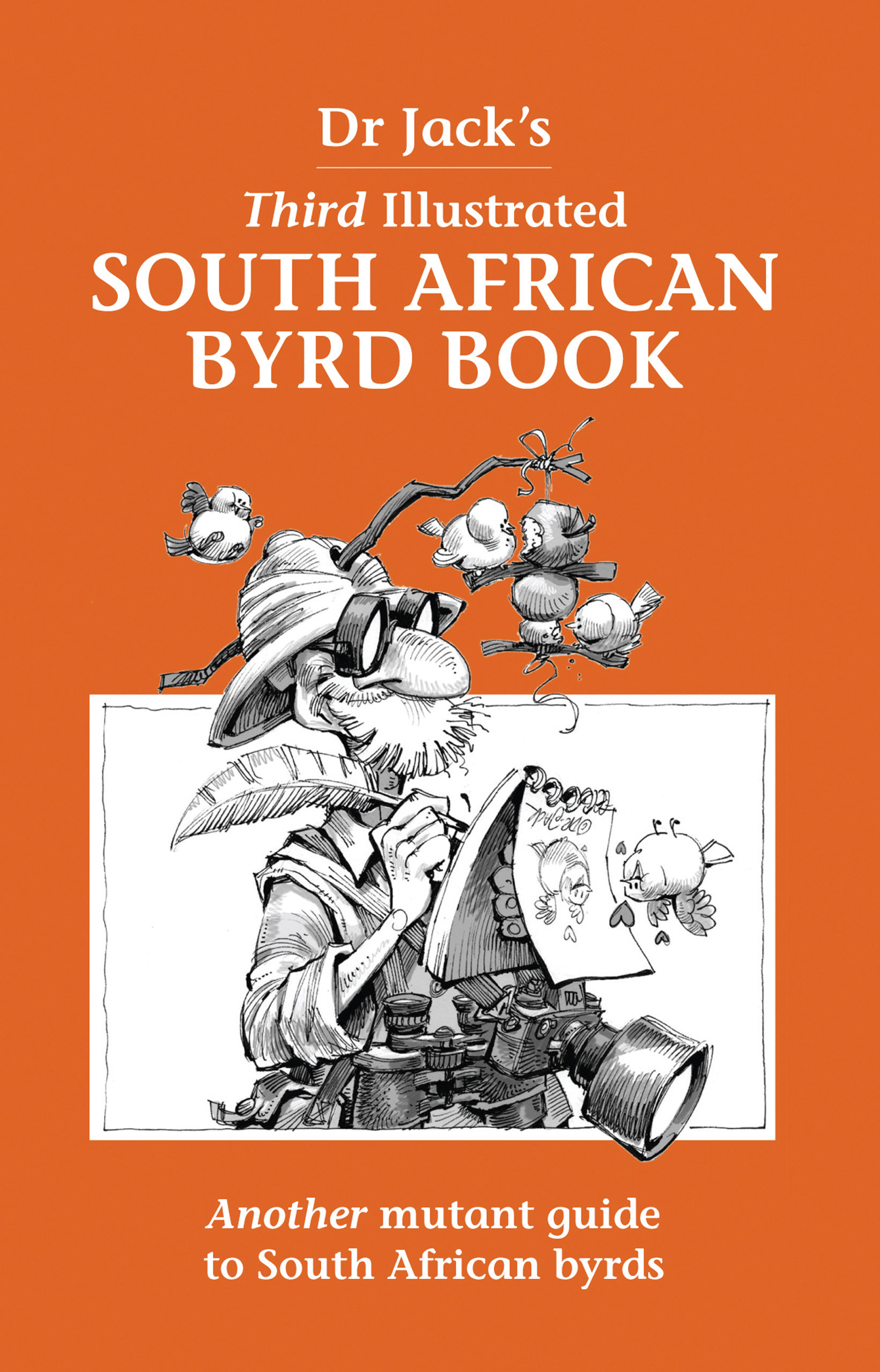 Picture of Dr Jack's illustrated South African byrd book