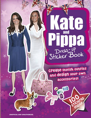 Picture of Kate & Pippa Middleton Dress-up Sticker Book